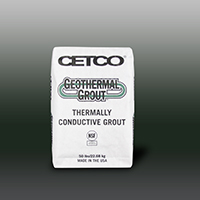 GEOTHERMAL - Enhanced Thermally Conductive Grout