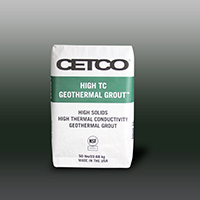 HIGH TC GEOTHERMAL GROUT - Enhanced Thermally Conductive Grout