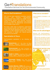 GeoTranslations English Brochure