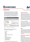 BREEZE Incident Analyst Tech Sheet