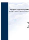 Comparison of Features and Data Requirements among the CALPUFF, AERMOD, and ADMS Models Brochure
