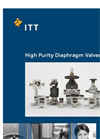 Pure-Flo - High Purity Diaphragm Valves Brochure