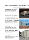 Security Structures & Fencing Catalog