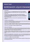 BoreSaver Liquid Enhancer Brochure