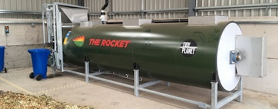 Tidy Planet ROCKET - Model A1200 - Rocket Organic Waste Composter