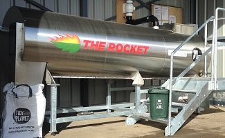 Tidy Planet ROCKET - Model A900 - Rocket Organic Food Waste Composter