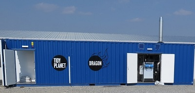 Tidy Planet DRAGON - Food Waste to Biomass Energy Plant