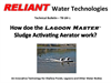 How doe the Lagoon Master Sludge Activating Aerator work - Brochure