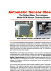 Reliant - Model SCM - Sensor Cleaning System - Brochure