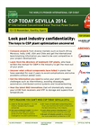 CSP Today Sevilla 2014 - Brochure