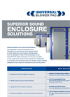 Sound Enclosures for Blower Systems