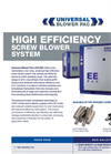 EE-PAC Screw Blower System