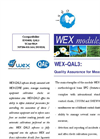 Model WEX-QAL3 - Quality Assurance for Measurements - Brochure
