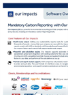 Our Impacts - Mandatory Carbon Reporting UK