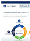 Sustainability Management with Our Impacts