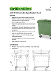1100 Litre - Four Wheel Bins Brochure