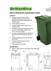 360 Litre - Two Wheel Bins Brochure