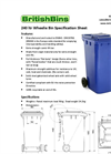 Two Wheel Bins 240 Litre- Brochure