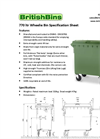 Four Wheel Bins 770Litre- Brochure