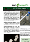 Eno Scientific - WS131 - Flow Meter Well Sounder Compatible Flow Sensor Brochure