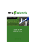 Eno Scientific - WS131 - Flow Meter Well Sounder Compatible Flow Sensor User Manual