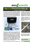 Eno Scientific - WS2100 - Flow Meter Kit Brochure