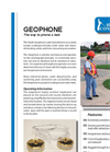 Geophone - Wireless Assessment and Training Checker or Watcher - Brochure