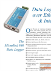 Data Logger Leaflet Brochure