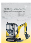 1404 Compact Excavator with Freedom to Move Brochure