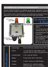 Gen II Ambient Air Gas Sensor Assembly OI-6000K- Brochure