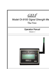 WireFree Signal Strength Meter Ol-9100- Brochure