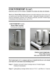 Countertop G.A.C. Water Filteration System Brochure
