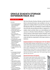 Oracle - Model X6-2 - Exadata Storage Expansion Rack  Brochure