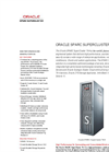 SPARC SuperCluster T4-4 Brochure