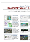 CALPUFF View - Version 4.0 - Long Range Puff Air Dispersion Model - Feature Sheet