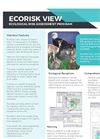 EcoRisk View - Ecological Risk Assessment Program - Brochure