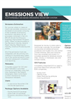 Emissions View - Customizable GIS-Based Emissions Inventory System - Brochure