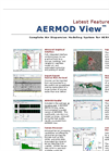 AERMOD View - Version 9.0 - Gaussian Plume Air Dispersion Model Feature Datasheet