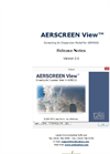AERSCREEN View - Version 2.0 - Screening Air Dispersion Model for AERMOD - Applications Note