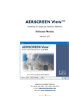 AERSCREEN View - Version 2.5 - Screening Air Dispersion Model - Release Notes