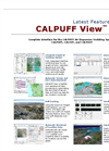 Calpuff View - Air Dispersion Modeling System - Latest Features