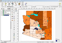 Emissions View - Customizable GIS-Based Emissions Inventory System