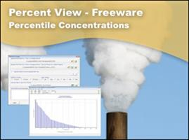 Percent View - Freeware - Percentile Concentrations for AERMOD