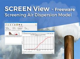 Screen View - Version 4.0.0 - Freeware - Sceening Air Dispersion Model