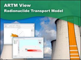 ARTM View - Atmospheric Radionuclide Transport Model