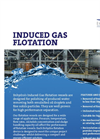 Induced Gas Flotation System Data Sheet