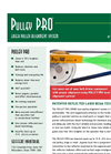 Pulley Pro Green - Model V - Belt Alignment Too Brochure