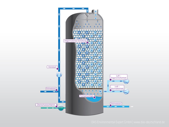 Biological Wastewater Treatment with the TFR Bioreactor