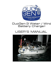 DuoGen - Model 3 - Combined Water and Wind Generator - User Manual