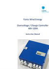 Fortis Wind Energy – Model 48V-100A - Overvoltage / Charge Controller - Instruction Manual